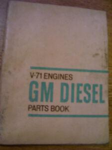original general motors parts manual v 71 series engines 1964 ebay 2.2l dohc ecotec engine diagram image is loading original general motors parts manual v 71 series