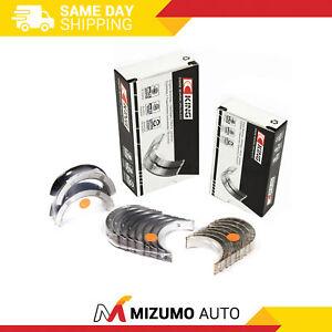 King-Main-Rod-Bearings-Fit-83-92-Mazda-626-MX6-B2200-Ford-Probe-2-2-F2-F2-T