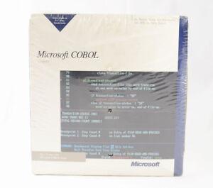 Microsoft-COBOL-2-2-Compiler-Tools-NEW-IN-BOX-SEALED-Not-Visual-Studio