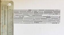 New Letterpress Type 12 Point Kabel Sans Serif Bold