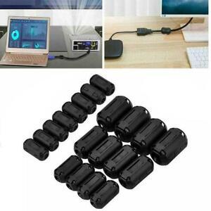 Cable-Clips-Ferrite-Ring-Core-RFI-EMI-Noise-Suppressor-Beads3-5-7-9-V6I3