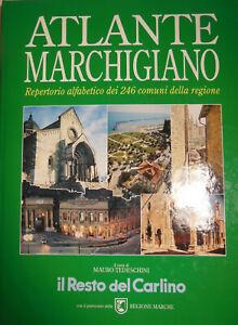 Atlante marchigiano repertorio di 246 comuni della Regione 170 pagine 1992