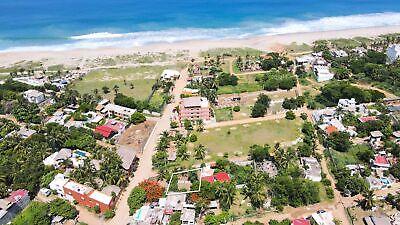 Terreno en Punta Zicatela Puerto Escondido Oax
