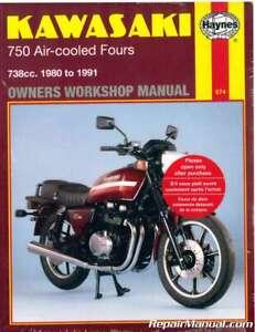 [DIAGRAM_5FD]  Haynes 1980-1991 Kawasaki KZ750 Z750 Air-Cooled Four Cylinder Motorcycle  Repa... | eBay | Kz750 Four Wiring Diagram |  | eBay