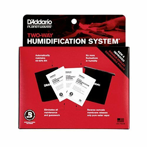 Planet Waves Humidipak Automatic Humidity Control System for guitar
