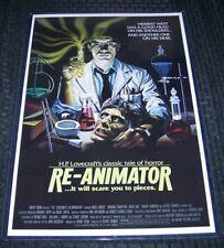 Re-Animator 11X17 Original Movie Poster Jeffrey Combs