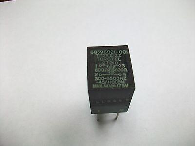 TOROTEL AUDIO TRANSFORMER TF5R21ZZ  600//600 OHMS