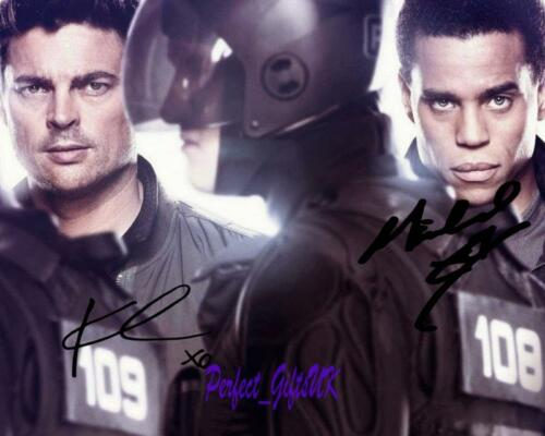Almost Human Karl Urban Michael Ealy SIGNED AUTOGRAPHED 10X8 REPRO PHOTO PRINT