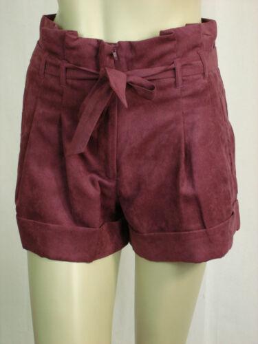 12 10 Miss Selfridge Casual Shorts  Sizes 4 Wine 14 8