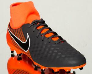 41d90a0902f Nike Magista Obra II Academy DF FG men soccer cleats NEW dark grey ...