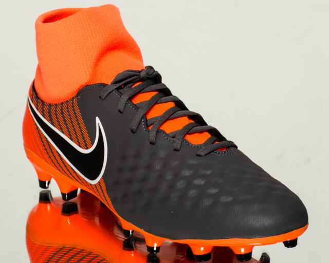 purchase cheap 1a5d0 aea65 Nike Magista Obra II Academy DF FG men soccer cleats NEW dark grey  AH7303-080