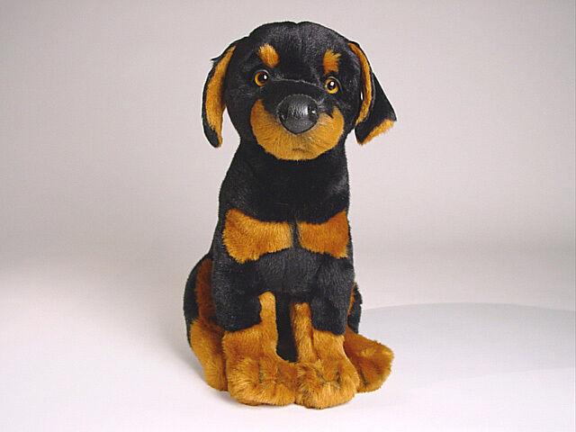 Doberuomo Pinscher Puppy by Piutre, He fatto fatto fatto in , Plush Stuffed Animal NWT 138972
