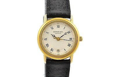 Vintage Raymond Weil Geneve 5332 Gold Plated Quartz Ladies Watch 1217 Bright In Colour Wristwatches
