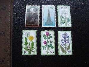 Germany-Rfa-Stamp-Yvert-Tellier-N-783-784-796-A-799-N-MNH-WF1