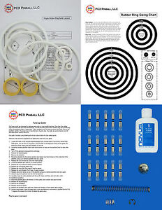 1975-Williams-Triple-Strike-Pinball-Machine-Basic-Tune-up-Kit