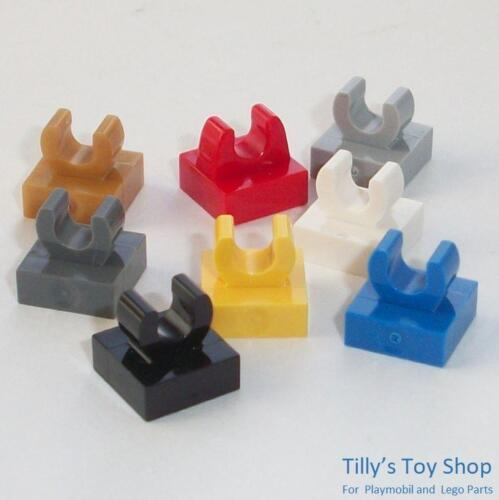Lego Pick a Colour Fifteen 1x1 Thin Tile Vertical Clip on Top ID 2555 NEW