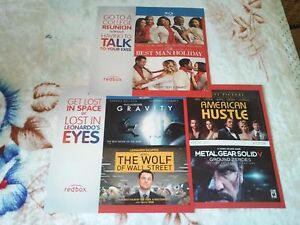 Details About 3 Brand New Redbox Posters American Hustle Gravity Wolf Wall Street