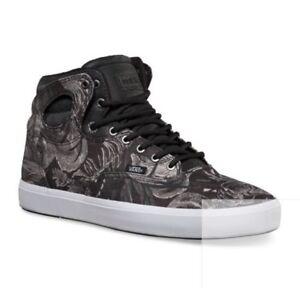 53119a215a Vans BUSHWICK (Tropix) Grey White UltraCush Men s Skate Shoes SIZE ...