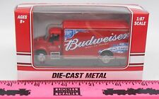 The Menards ~ 1:87 scale HO Die-Cast Budweiser Beverage Truck