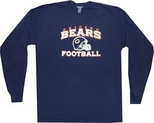f3f04d07d Image is loading Chicago-Bears-Arch-Reebok-Long-Sleeve-Oversized-T-