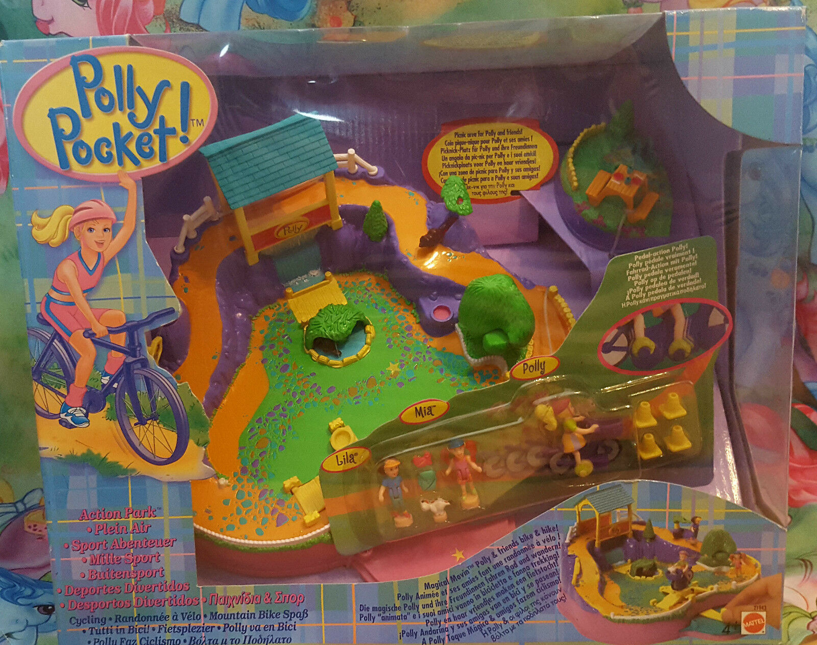 Factory Factory Factory sealed collector´s item Polly Pocket Action Park 59f5ae