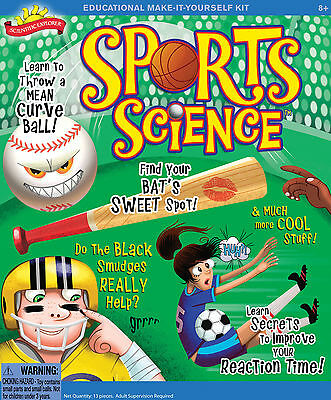 SPORTS SCIENCE EDUCATIONAL MAKE IT YOURSELF ACTIVITY KIT SCIENTIFIC EXPLORER