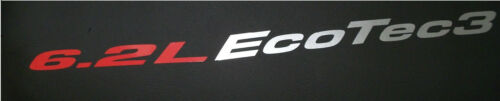 Hood sticker decals emblem Chevy Silverado GMC Sierra Z71 HD 6.2L Ecotec 3 2