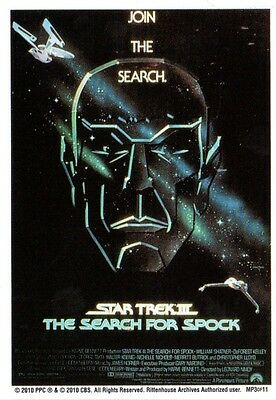 Star Trek Quotable Movies Chase//Insert Card Movie Poster Search Spock MP3
