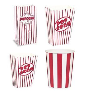 Popcorn-boxes-buckets-bags-rayas-Rojas-party-food-retro-hollywood-movie-treat