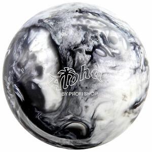 Bowling-Ball-Aloha-Midnight-6-16-lbs-Bowlingkugel-schwarz-silber-Spareball