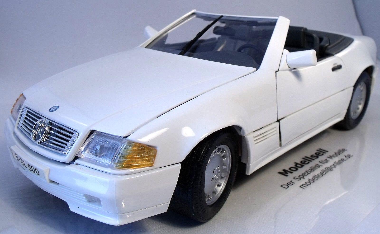 Mercedes-Benz 500SL Cabrio 1989 von Maisto im Maßstab 1 18 Modellauto
