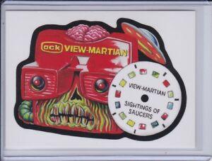 Losse kaarten Verzamelkaarten, ruilkaarten 2017 Topps Garbage Pail Kids GPK Network Spews Wacky Packages #64 View Martian