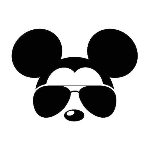 Mickey Mouse Sunglasses//Shades Vinyl Decal-Disney