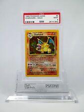 PSA 9 MINT Charizard Pokemon 1st Base Set #4/102
