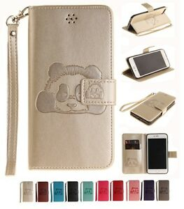 Magnetic-Wallet-Embossing-PU-Leather-Card-Flip-Stand-LOT-Cover-Luxury-TX-Case