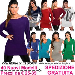 Maglione-Lungo-da-Donna-Maxi-Pull-Abito-in-Maglia-Pullover-Maxipull-Moda-Fashion