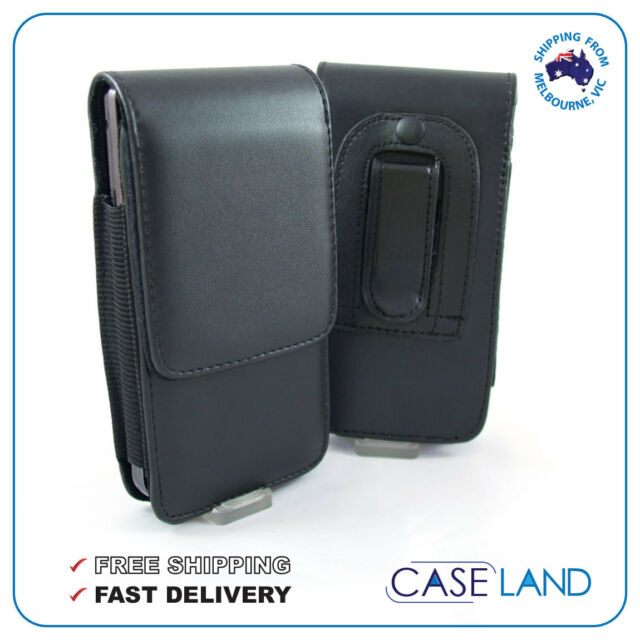 reputable site 3ff36 e0d56 B2-vertical Leather Belt Clip Case Holster for Samsung Galaxy S5 G900  -telstra