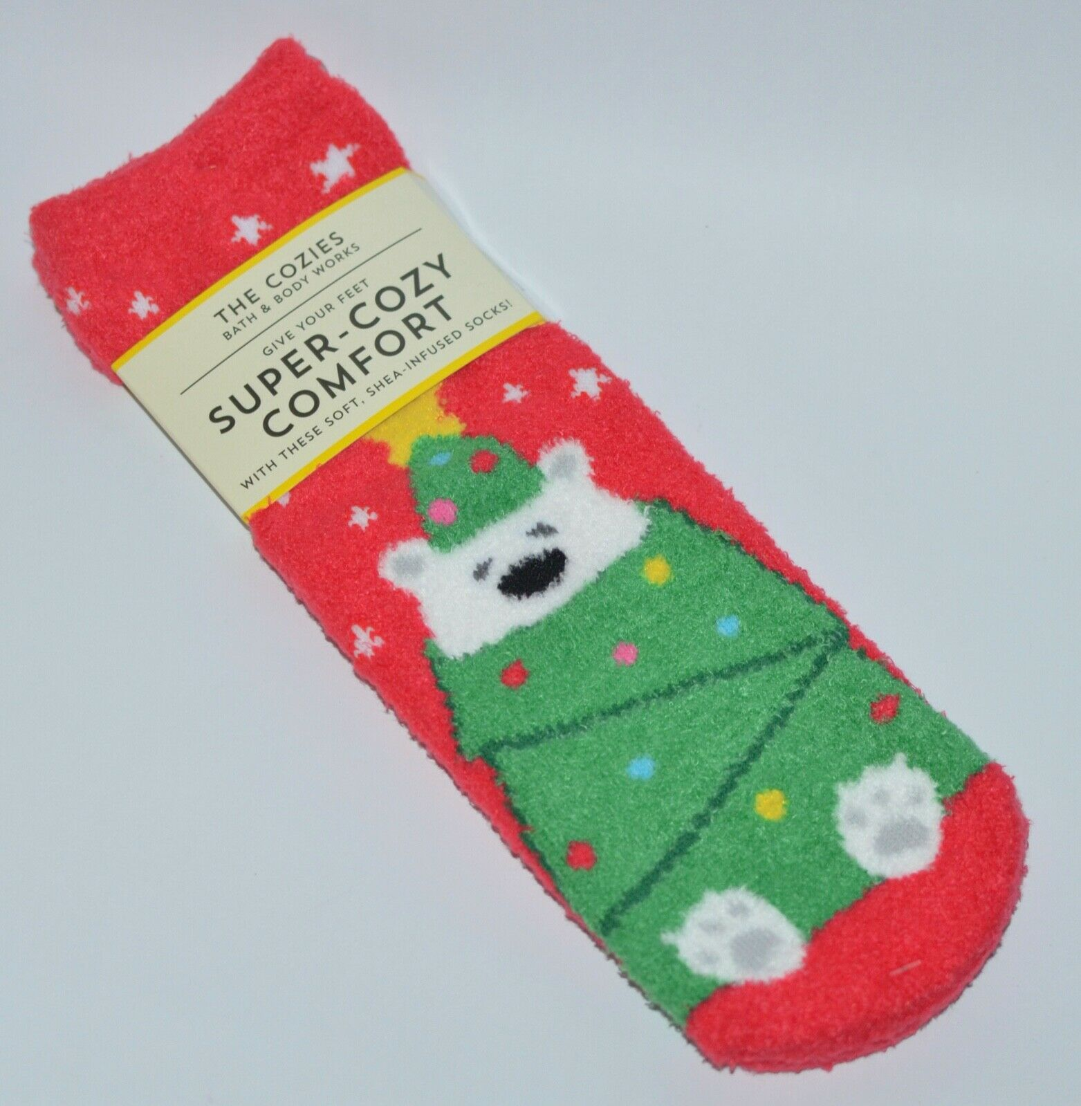 Christmas Tree Candy Cane Blue Moisture Wicking Socks for Womens Extra Heavy Cushion Socks Non Slip Boot Socks