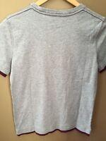 Boys L 10 Gap Kids White Green Logo Shirt $17 Top S/s