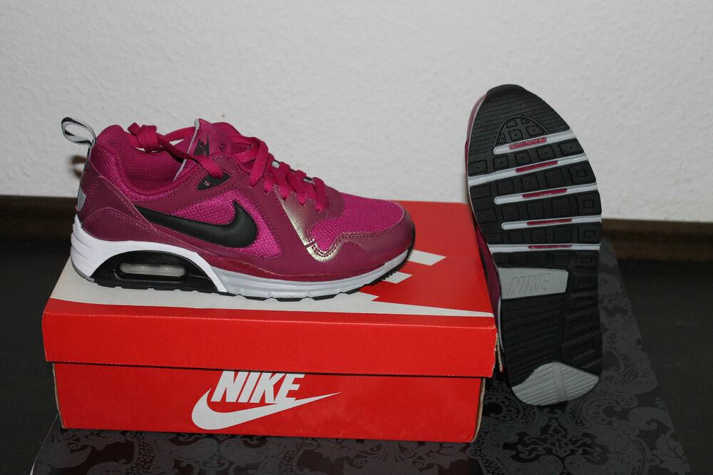 Nike Air Max Trax Femmes Running Chaussures Rose Blanc Taille 38,  Chaussures de sport pour hommes et femmes