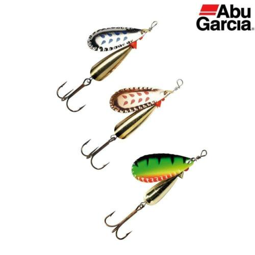 ABU DROPPEN SET OF 3 SPINNERS 6g 8g or 12g SET TROUT SALMON LURE NEW COLOURS
