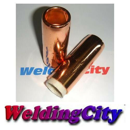 WeldingCity 2-pk Gas Nozzle 4591 (3/4) for Bernard MIG Welding GunUS Seller