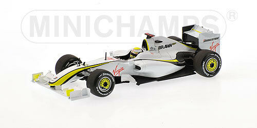 Brawn Brawn Brawn GP BGP001 J.Button 2009400090022 1 43 Minichamps c71eaa