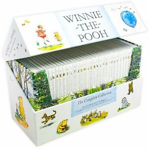 Winnie-the-Pooh-The-Complete-Childrens-Collection-30-Books-Pack-Set-NEW
