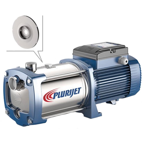Shallow Well multi-stage water pump in Stainless steel PLURIJET 6/130 3 HP 400V