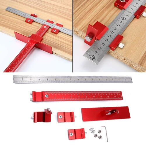 Punch Locator Drill Guide Sleeve Cabinet Hardware Jig Dowelling For Wood Working