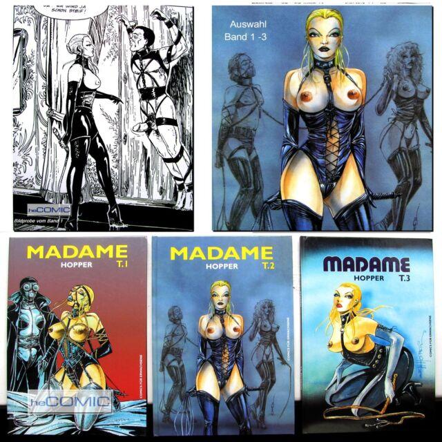 Madame 1 – 3 Jack Henry Hopper EROTIK im COMIC für Erwachsene BDSM Fem dom 70er
