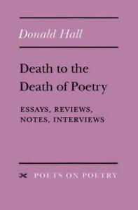 donald hall essays