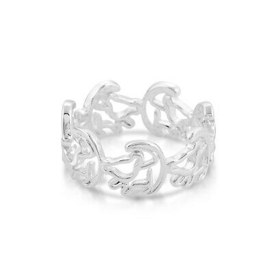 Disney Couture Kingdom Official Lion King White Gold Plated Simba Outline Ring Ebay Characters > movie characters > characters from the lion king > simba. ebay