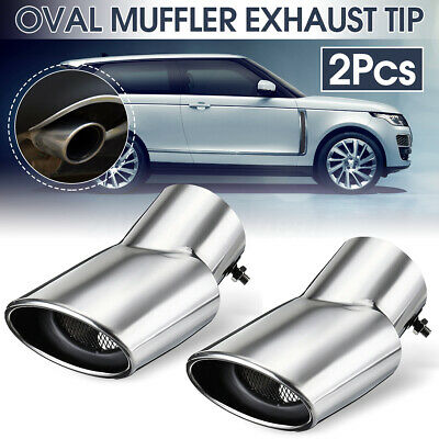 Chrome Exhaust Muffler Tail Pipe Tip Oval For Land Rover Range Rover 2002-2010